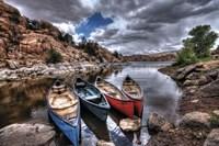 Canoe Break Fine Art Print