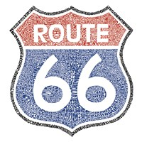 The Legendary Route 66 Fine Art Print