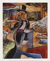 Pointilist's Dejeuner Fine Art Print