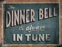 The Dinner Bell Fine Art Print