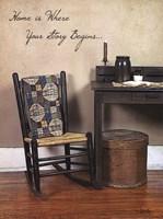 Home Story Fine Art Print