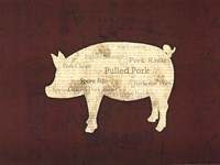 Pig Foods Fine Art Print