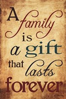 Gift of Family Fine Art Print