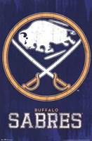 Sabres - Logo 13 Wall Poster