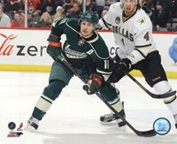 Zach Parise 2012-13 Action Framed Print