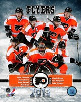 Philadelphia Flyers 2012-13 Team Composite Fine Art Print