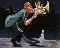 Modern Jazz Step Fine Art Print