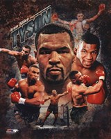 Mike Tyson 2013 Portrait Plus Fine Art Print