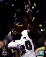 Ed Reed Super Bowl XLVII Celebration Fine Art Print