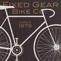 Fixed Gear Bike Co. Fine Art Print
