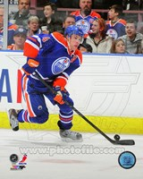 Taylor Hall on Ice 2012-13 Fine Art Print