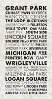 Chicago Cities I Framed Print