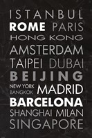World Cities II Fine Art Print