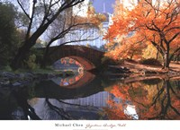 Gapstow Bridge, Fall Fine Art Print