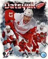 Pavel Datsyuk 2013 Portrait Plus Framed Print