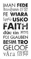Faith Languages Fine Art Print