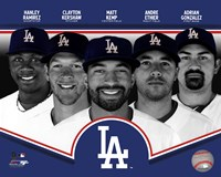 Los Angeles Dodgers 2013 Team Composite Fine Art Print