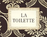 La Toilette Framed Print