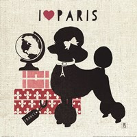 Paris Pooch Fine Art Print