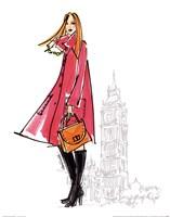 Colorful Fashion I - London Fine Art Print