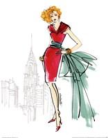 Colorful Fashion III - New York Fine Art Print