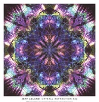 Crystal Refraction #22 Fine Art Print