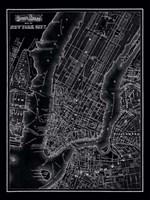 New York City, 1895 Framed Print