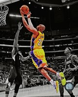 Kobe Bryant 2012-13 Spotlight Action Fine Art Print