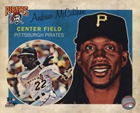 Andrew McCutchen 2013 Studio Plus Fine Art Print