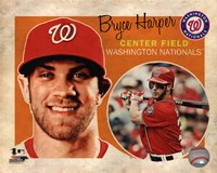Bryce Harper 2013 Studio Plus Framed Print