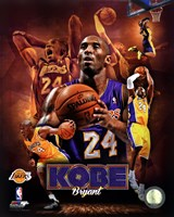 Kobe Bryant 2013 Portrait Plus Fine Art Print