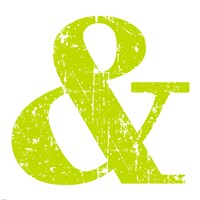 Lime Ampersand Fine Art Print