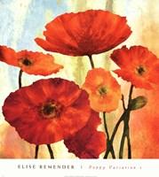 Poppy Variation 1 Fine Art Print