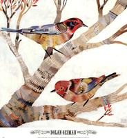 Warblers II Framed Print