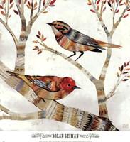 Warblers I Framed Print