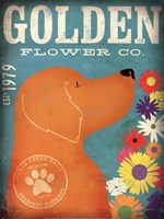 Golden Flower Co. Fine Art Print