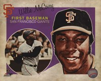 Willie McCovey 2013 Studio Plus Fine Art Print