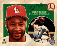 Ozzie Smith 2013 Studio Plus Fine Art Print