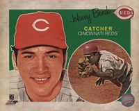 Johnny Bench 2013 Studio Plus Fine Art Print