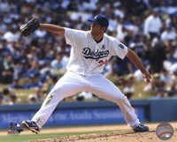Clayton Kershaw 2013 Pitching Fine Art Print