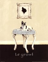 Le Growl Fine Art Print