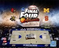 2013 NCAA Men's College Basketball Final Four Composite Fine Art Print