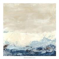 Coastal Currents II Framed Print