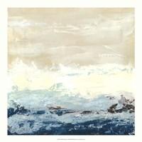 Coastal Currents I Framed Print