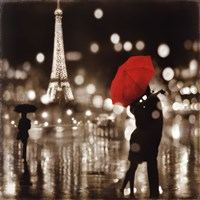 A Paris Kiss Fine Art Print