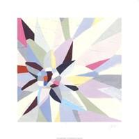 Geometric Dahlia I Framed Print
