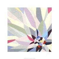 Geometric Dahlia II Fine Art Print