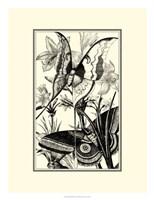 B&W Butterfly I Fine Art Print