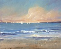 Sailing Breeze I Fine Art Print