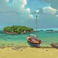 Sailing Serenity I Fine Art Print
